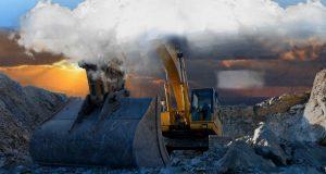 andezit taşı madenciliği